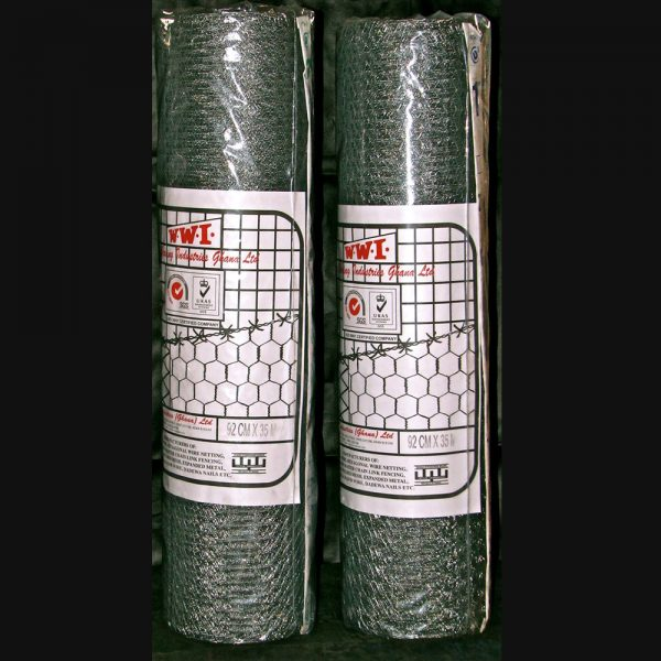 Hexagonal mesh 2- Wire ghana product